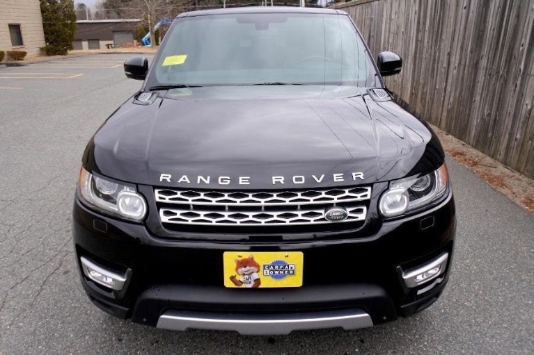 Used 2016 Land Rover Range Rover Sport HSE 4WD Used 2016 Land Rover Range Rover Sport HSE 4WD for sale  at Metro West Motorcars LLC in Shrewsbury MA 8