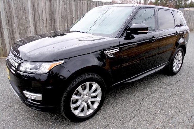 Used 2016 Land Rover Range Rover Sport HSE 4WD Used 2016 Land Rover Range Rover Sport HSE 4WD for sale  at Metro West Motorcars LLC in Shrewsbury MA 1