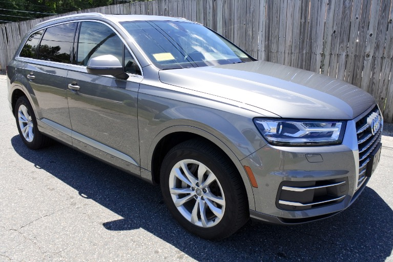 Used 2018 Audi Q7 2.0 Premium Plus Quattro Used 2018 Audi Q7 2.0 Premium Plus Quattro for sale  at Metro West Motorcars LLC in Shrewsbury MA 7