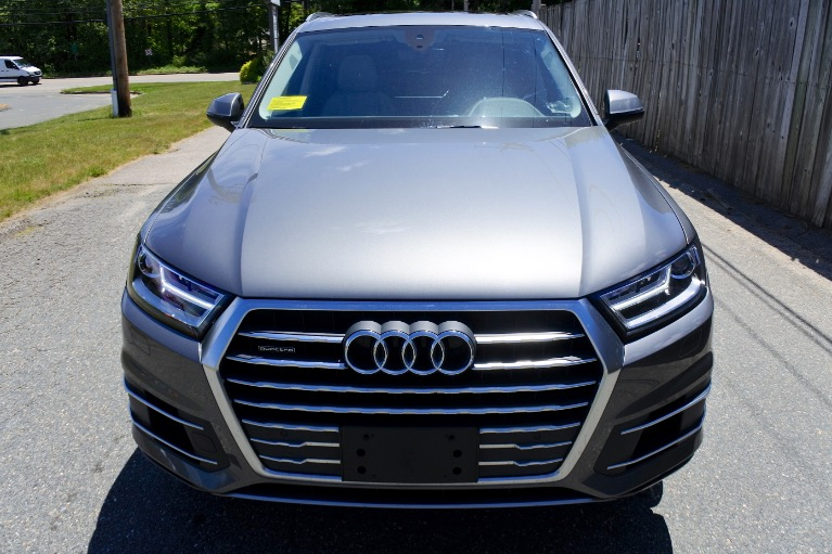 Used 2018 Audi Q7 2.0 Premium Plus Quattro Used 2018 Audi Q7 2.0 Premium Plus Quattro for sale  at Metro West Motorcars LLC in Shrewsbury MA 8