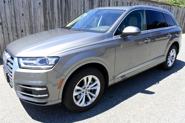 Used 2018 Audi Q7 2.0 Premium Plus Quattro Used 2018 Audi Q7 2.0 Premium Plus Quattro for sale  at Metro West Motorcars LLC in Shrewsbury MA 1