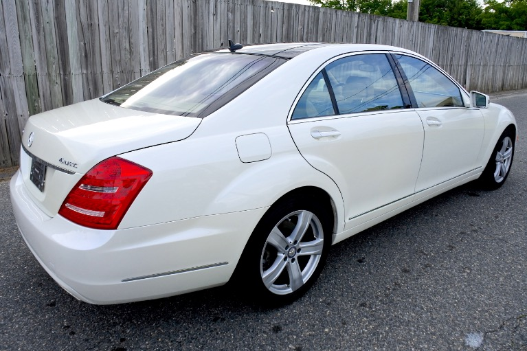 Used 2010 Mercedes-Benz S-class S550 4MATIC Used 2010 Mercedes-Benz S-class S550 4MATIC for sale  at Metro West Motorcars LLC in Shrewsbury MA 5