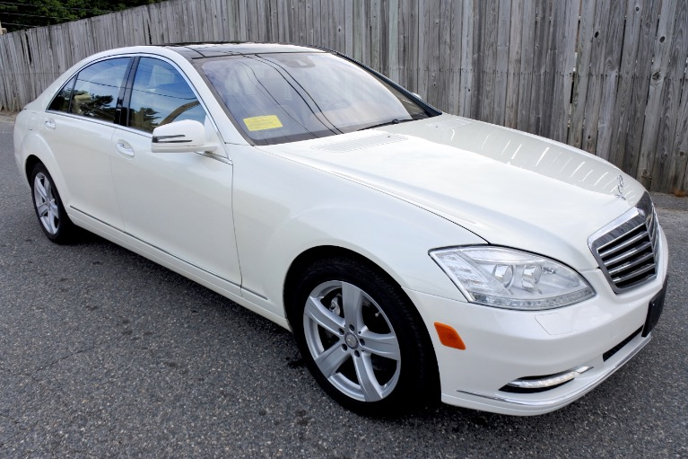 Used 2010 Mercedes-Benz S-class S550 4MATIC Used 2010 Mercedes-Benz S-class S550 4MATIC for sale  at Metro West Motorcars LLC in Shrewsbury MA 7