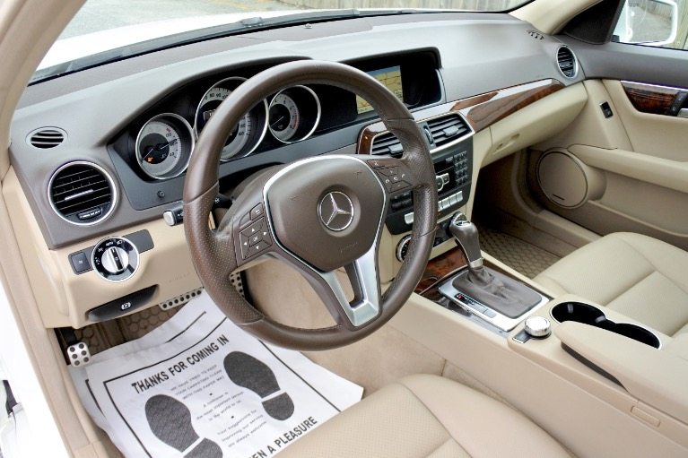 Used 2014 Mercedes-Benz C-class C300 Sport 4MATIC Used 2014 Mercedes-Benz C-class C300 Sport 4MATIC for sale  at Metro West Motorcars LLC in Shrewsbury MA 13