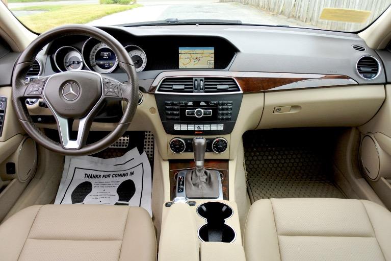 Used 2014 Mercedes-Benz C-class C300 Sport 4MATIC Used 2014 Mercedes-Benz C-class C300 Sport 4MATIC for sale  at Metro West Motorcars LLC in Shrewsbury MA 9