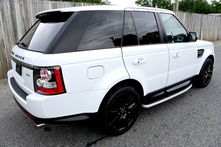 Used 2013 Land Rover Range Rover Sport HSE Limited Edition Used 2013 Land Rover Range Rover Sport HSE Limited Edition for sale  at Metro West Motorcars LLC in Shrewsbury MA 5