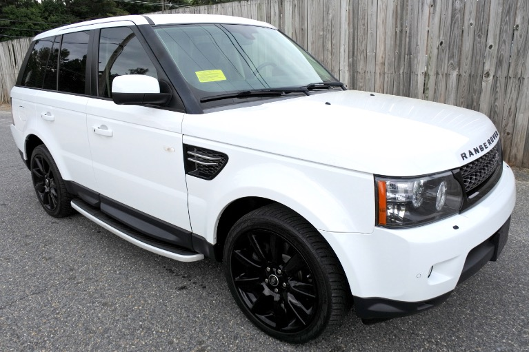 Used 2013 Land Rover Range Rover Sport HSE Limited Edition Used 2013 Land Rover Range Rover Sport HSE Limited Edition for sale  at Metro West Motorcars LLC in Shrewsbury MA 7