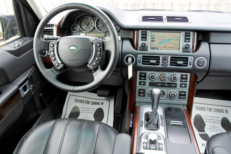 Used 2008 Land Rover Range Rover HSE Used 2008 Land Rover Range Rover HSE for sale  at Metro West Motorcars LLC in Shrewsbury MA 10