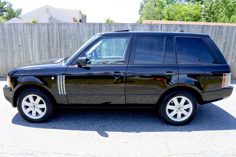 Used 2008 Land Rover Range Rover HSE Used 2008 Land Rover Range Rover HSE for sale  at Metro West Motorcars LLC in Shrewsbury MA 2