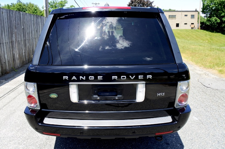 Used 2008 Land Rover Range Rover HSE Used 2008 Land Rover Range Rover HSE for sale  at Metro West Motorcars LLC in Shrewsbury MA 4