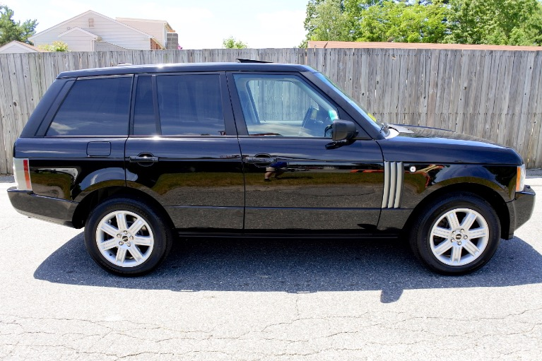 Used 2008 Land Rover Range Rover HSE Used 2008 Land Rover Range Rover HSE for sale  at Metro West Motorcars LLC in Shrewsbury MA 6
