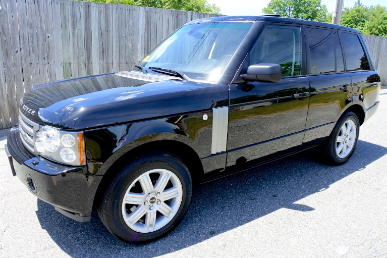 Used 2008 Land Rover Range Rover HSE Used 2008 Land Rover Range Rover HSE for sale  at Metro West Motorcars LLC in Shrewsbury MA 1