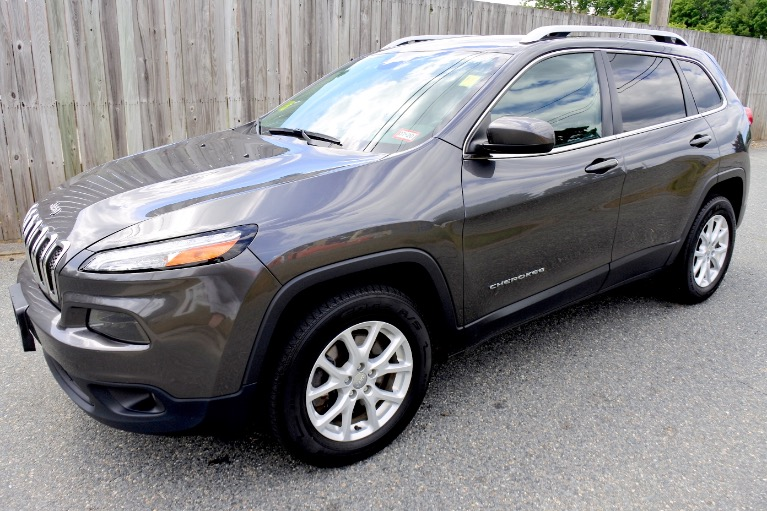 Used Used 2015 Jeep Cherokee 4WD 4dr Latitude for sale $11,800 at Metro West Motorcars LLC in Shrewsbury MA
