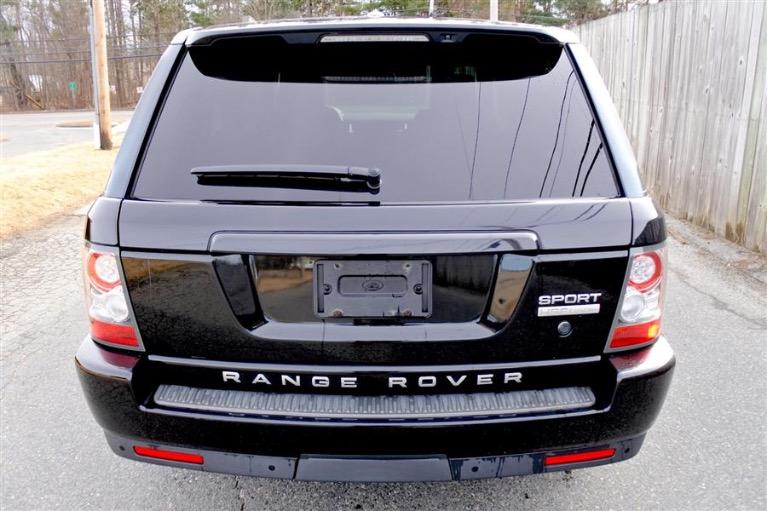 Used 2010 Land Rover Range Rover Sport HSE LUX Used 2010 Land Rover Range Rover Sport HSE LUX for sale  at Metro West Motorcars LLC in Shrewsbury MA 4