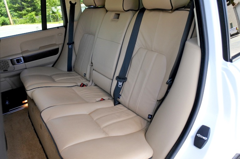 Used 2010 Land Rover Range Rover HSE Used 2010 Land Rover Range Rover HSE for sale  at Metro West Motorcars LLC in Shrewsbury MA 16