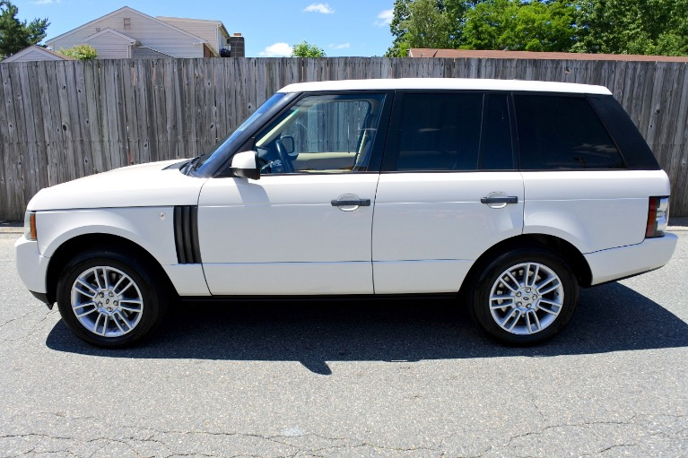 Used 2010 Land Rover Range Rover HSE Used 2010 Land Rover Range Rover HSE for sale  at Metro West Motorcars LLC in Shrewsbury MA 2
