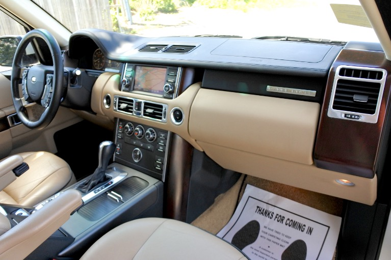 Used 2010 Land Rover Range Rover HSE Used 2010 Land Rover Range Rover HSE for sale  at Metro West Motorcars LLC in Shrewsbury MA 21