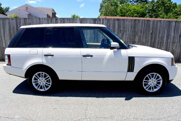 Used 2010 Land Rover Range Rover HSE Used 2010 Land Rover Range Rover HSE for sale  at Metro West Motorcars LLC in Shrewsbury MA 6