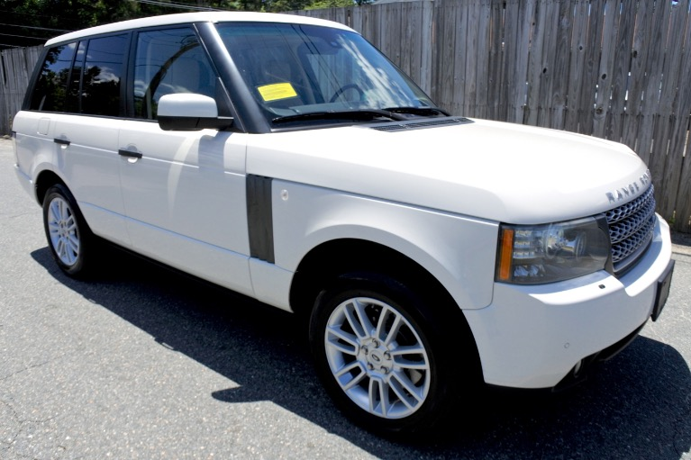 Used 2010 Land Rover Range Rover HSE Used 2010 Land Rover Range Rover HSE for sale  at Metro West Motorcars LLC in Shrewsbury MA 7