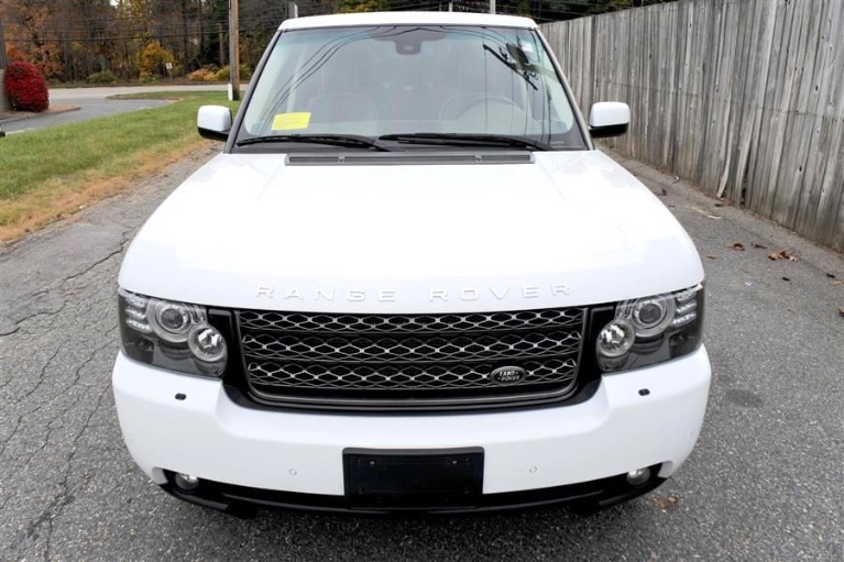 Used 2010 Land Rover Range Rover HSE Used 2010 Land Rover Range Rover HSE for sale  at Metro West Motorcars LLC in Shrewsbury MA 8