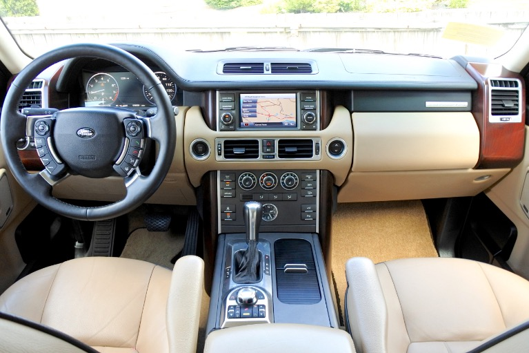 Used 2010 Land Rover Range Rover HSE Used 2010 Land Rover Range Rover HSE for sale  at Metro West Motorcars LLC in Shrewsbury MA 9