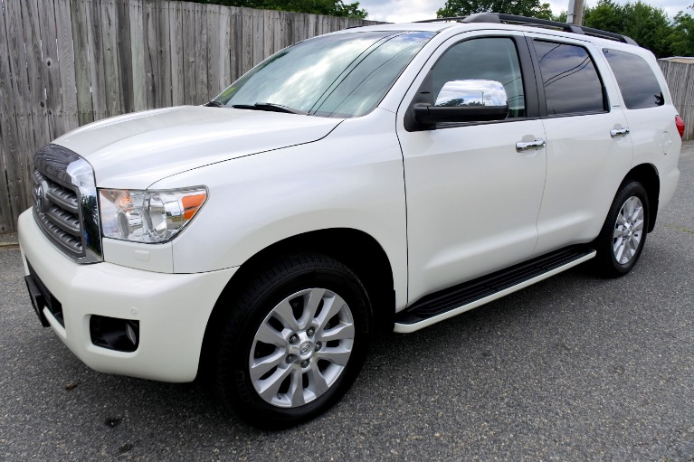 Used Used 2014 Toyota Sequoia Platinum 4WD for sale $29,800 at Metro West Motorcars LLC in Shrewsbury MA