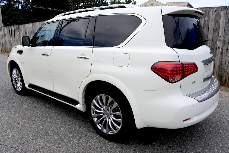 Used 2015 Infiniti Qx80 4WD Used 2015 Infiniti Qx80 4WD for sale  at Metro West Motorcars LLC in Shrewsbury MA 3