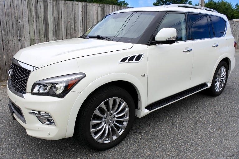 Used Used 2015 Infiniti Qx80 4WD for sale $27,800 at Metro West Motorcars LLC in Shrewsbury MA