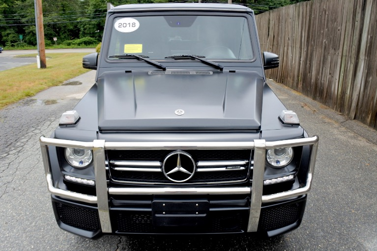 Used 2018 Mercedes-Benz G-class AMG G 63 4MATIC Used 2018 Mercedes-Benz G-class AMG G 63 4MATIC for sale  at Metro West Motorcars LLC in Shrewsbury MA 8