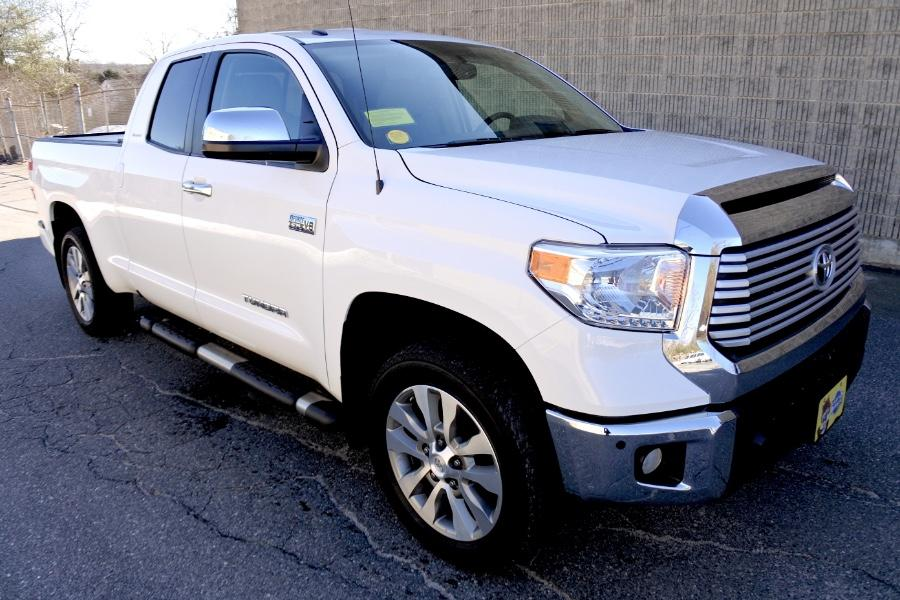 Used 2017 Toyota Tundra 4WD Limited Double Cab Used 2017 Toyota Tundra 4WD Limited Double Cab for sale  at Metro West Motorcars LLC in Shrewsbury MA 7