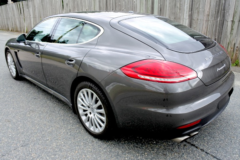Used 2014 Porsche Panamera 4S AWD Used 2014 Porsche Panamera 4S AWD for sale  at Metro West Motorcars LLC in Shrewsbury MA 3