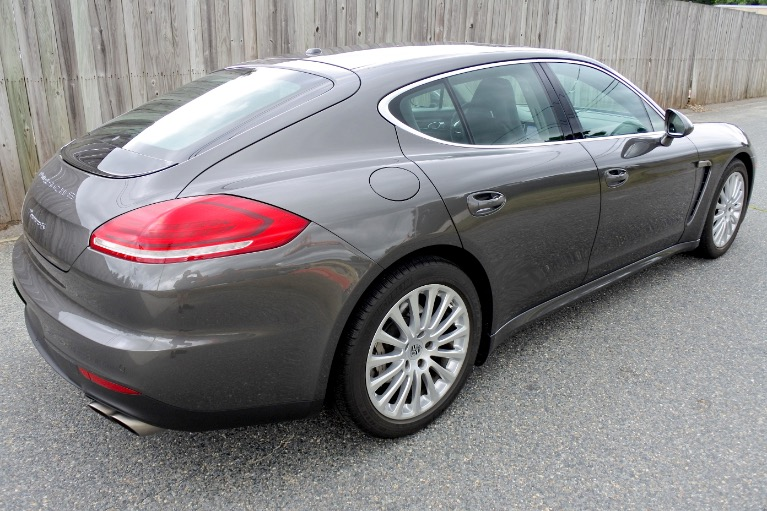Used 2014 Porsche Panamera 4S AWD Used 2014 Porsche Panamera 4S AWD for sale  at Metro West Motorcars LLC in Shrewsbury MA 5