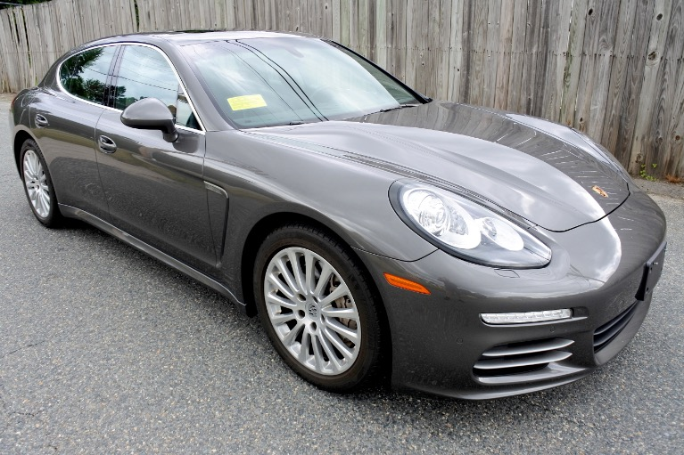 Used 2014 Porsche Panamera 4S AWD Used 2014 Porsche Panamera 4S AWD for sale  at Metro West Motorcars LLC in Shrewsbury MA 7