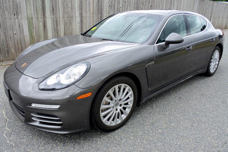 Used Used 2014 Porsche Panamera 4S AWD for sale $45,800 at Metro West Motorcars LLC in Shrewsbury MA