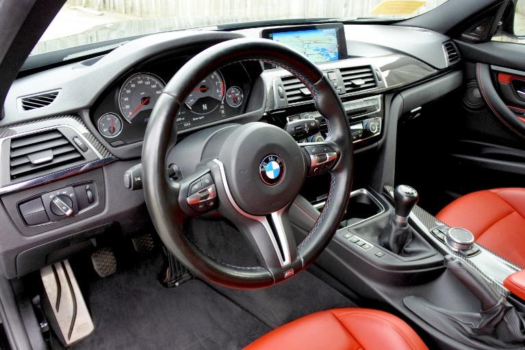 Used 2016 BMW M3 Sedan Used 2016 BMW M3 Sedan for sale  at Metro West Motorcars LLC in Shrewsbury MA 13