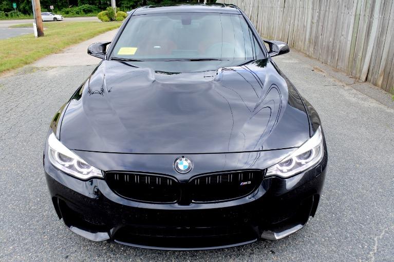 Used 2016 BMW M3 Sedan Used 2016 BMW M3 Sedan for sale  at Metro West Motorcars LLC in Shrewsbury MA 8