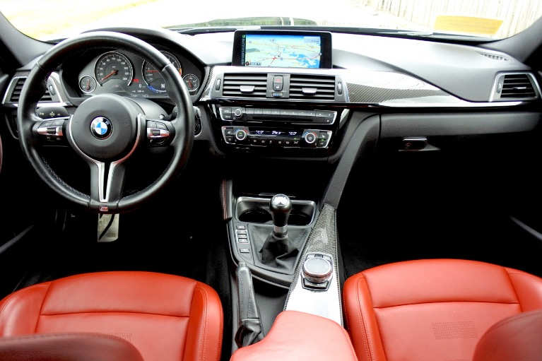 Used 2016 BMW M3 Sedan Used 2016 BMW M3 Sedan for sale  at Metro West Motorcars LLC in Shrewsbury MA 9