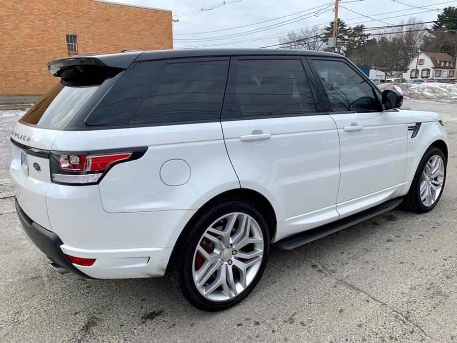 Used 2014 Land Rover Range Rover Sport 4WD 4dr Autobiography Used 2014 Land Rover Range Rover Sport 4WD 4dr Autobiography for sale  at Metro West Motorcars LLC in Shrewsbury MA 4
