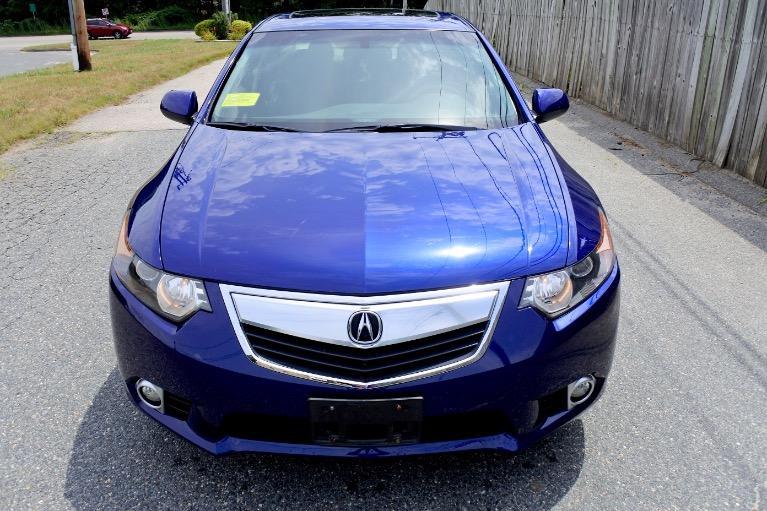 Used 2013 Acura Tsx Sedan Used 2013 Acura Tsx Sedan for sale  at Metro West Motorcars LLC in Shrewsbury MA 8