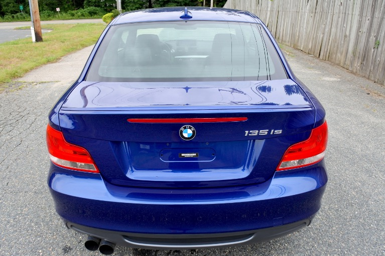 Used 2013 BMW 1 Series 135is Used 2013 BMW 1 Series 135is for sale  at Metro West Motorcars LLC in Shrewsbury MA 4