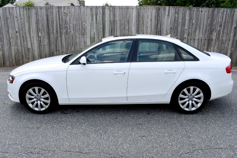 Used 2014 Audi A4 2.0T  Quattro Premium Used 2014 Audi A4 2.0T  Quattro Premium for sale  at Metro West Motorcars LLC in Shrewsbury MA 2
