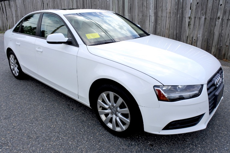 Used 2014 Audi A4 2.0T  Quattro Premium Used 2014 Audi A4 2.0T  Quattro Premium for sale  at Metro West Motorcars LLC in Shrewsbury MA 7