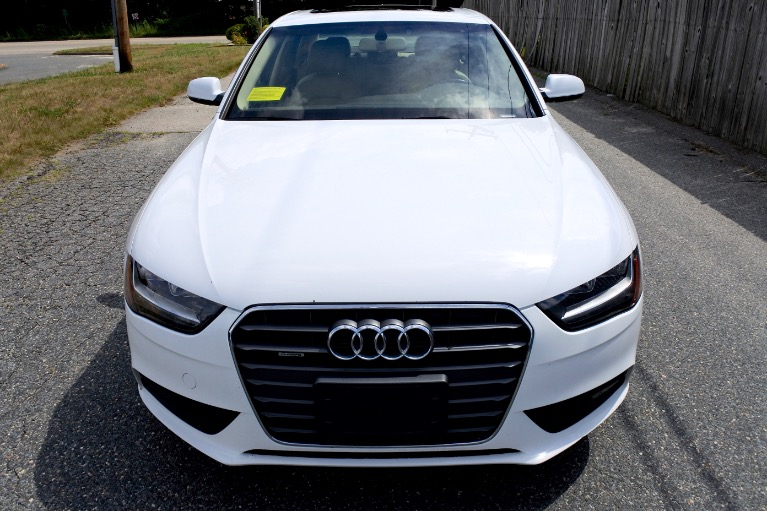 Used 2014 Audi A4 2.0T  Quattro Premium Used 2014 Audi A4 2.0T  Quattro Premium for sale  at Metro West Motorcars LLC in Shrewsbury MA 8