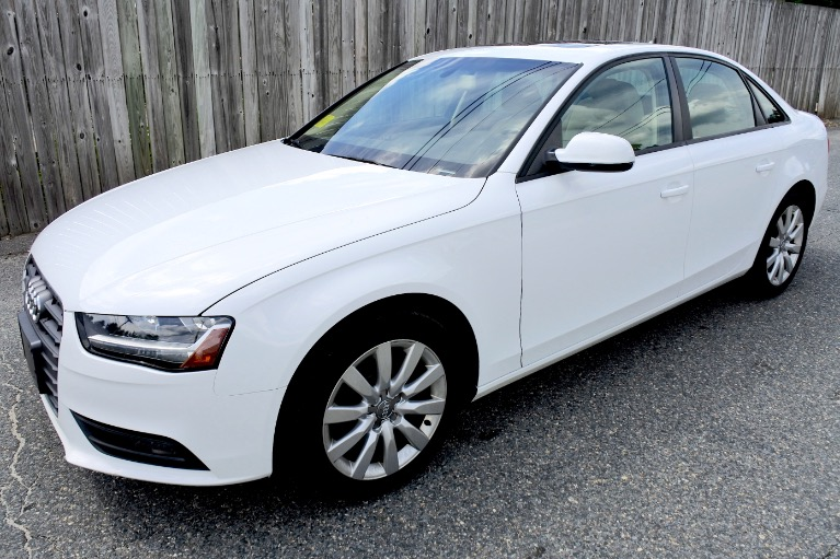 Used 2014 Audi A4 2.0T  Quattro Premium Used 2014 Audi A4 2.0T  Quattro Premium for sale  at Metro West Motorcars LLC in Shrewsbury MA 1