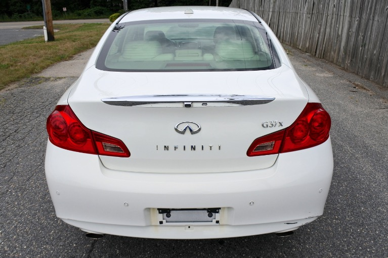 Used 2013 Infiniti G37x AWD Used 2013 Infiniti G37x AWD for sale  at Metro West Motorcars LLC in Shrewsbury MA 4