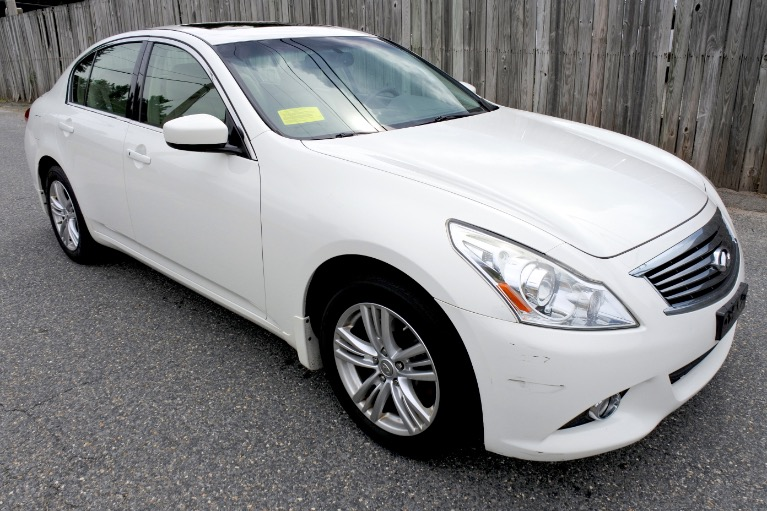 Used 2013 Infiniti G37x AWD Used 2013 Infiniti G37x AWD for sale  at Metro West Motorcars LLC in Shrewsbury MA 7