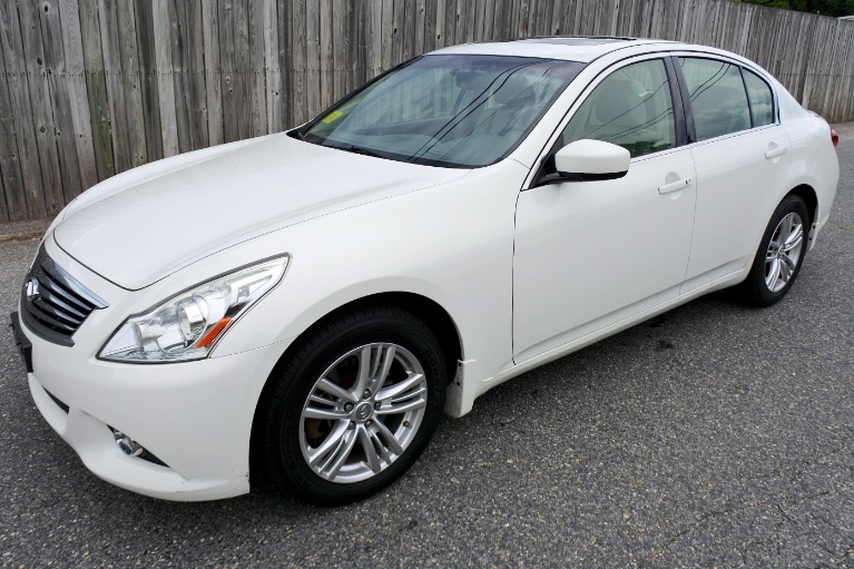 Used 2013 Infiniti G37x AWD Used 2013 Infiniti G37x AWD for sale  at Metro West Motorcars LLC in Shrewsbury MA 1