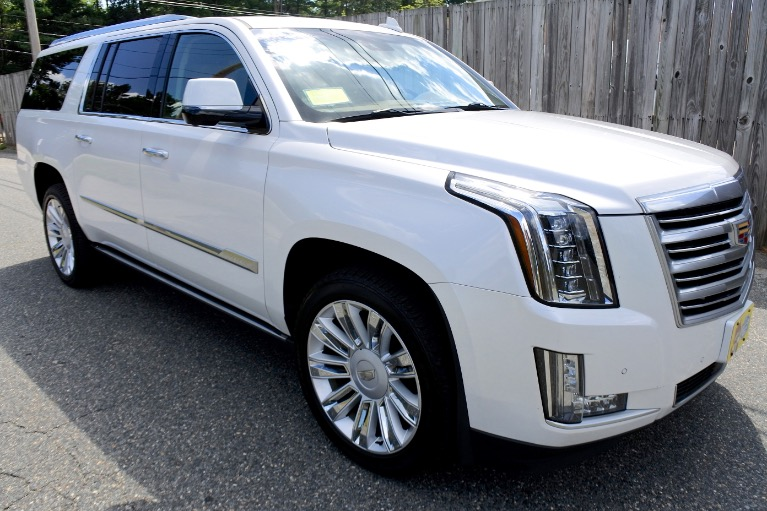 Used 2016 Cadillac Escalade Esv Platinum 4WD Used 2016 Cadillac Escalade Esv Platinum 4WD for sale  at Metro West Motorcars LLC in Shrewsbury MA 7