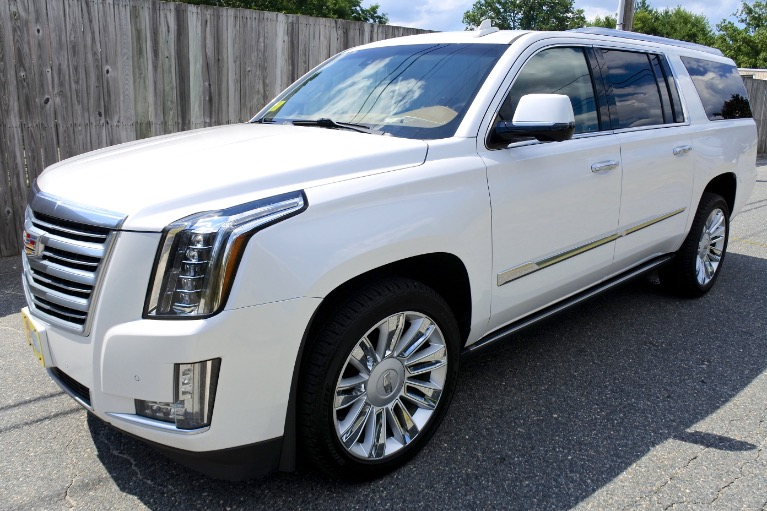 Used 2016 Cadillac Escalade Esv Platinum 4WD Used 2016 Cadillac Escalade Esv Platinum 4WD for sale  at Metro West Motorcars LLC in Shrewsbury MA 1