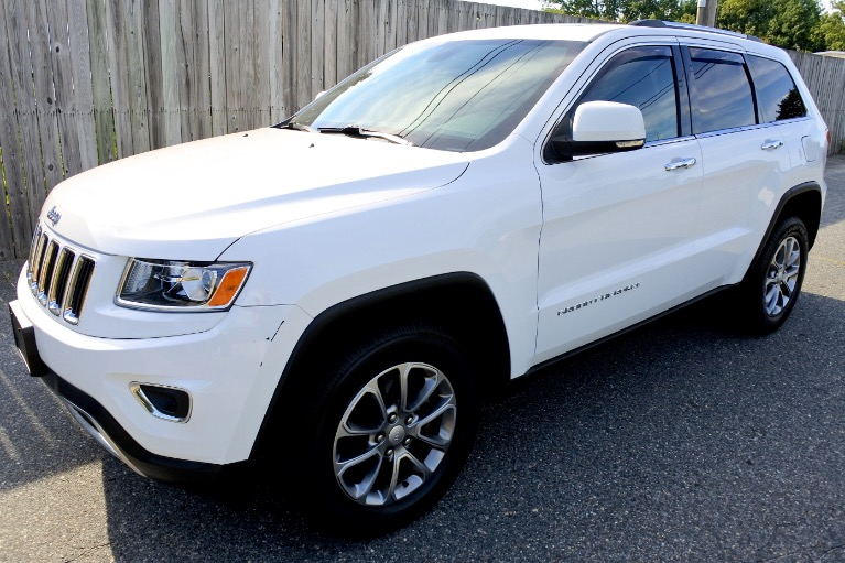 Used Used 2014 Jeep Grand Cherokee Limited 4WD for sale $20,800 at Metro West Motorcars LLC in Shrewsbury MA
